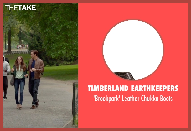 Timberland Earthkeepers brown boots from Sleeping with Other People seen with Jason Sudeikis (Jake)