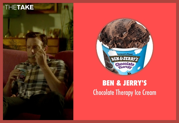 Ben & Jerry's cream from Sleeping with Other People seen with Jason Sudeikis (Jake)