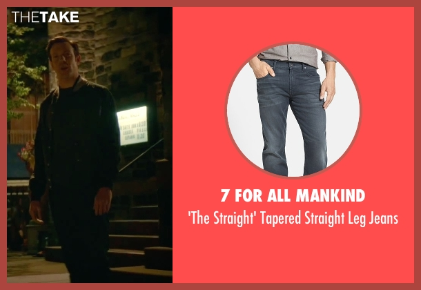 7 For All Mankind gray jeans from Sleeping with Other People seen with Jason Sudeikis (Jake)