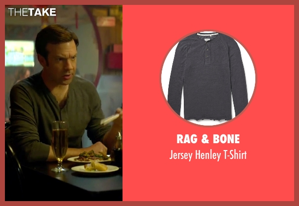 Rag & Bone gray t-shirt from Sleeping with Other People seen with Jason Sudeikis (Jake)