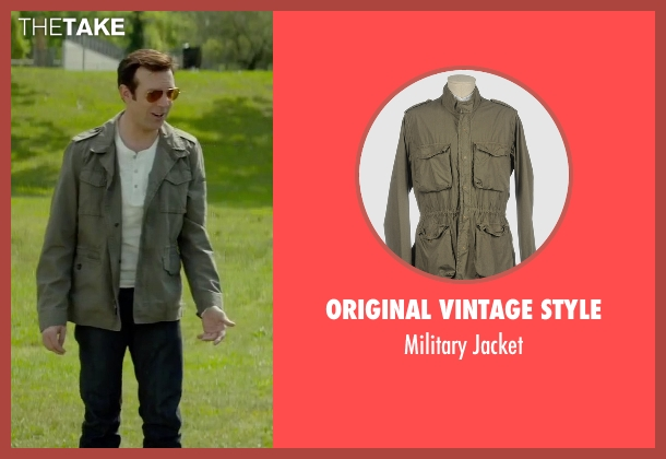 Original Vintage Style green jacket from Sleeping with Other People seen with Jason Sudeikis (Jake)