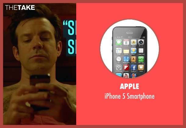 Apple smartphone from Sleeping with Other People seen with Jason Sudeikis (Jake)