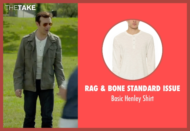 Rag & Bone Standard Issue white shirt from Sleeping with Other People seen with Jason Sudeikis (Jake)