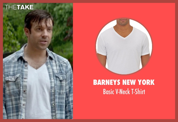 Barneys New York white t-shirt from Sleeping with Other People seen with Jason Sudeikis (Jake)