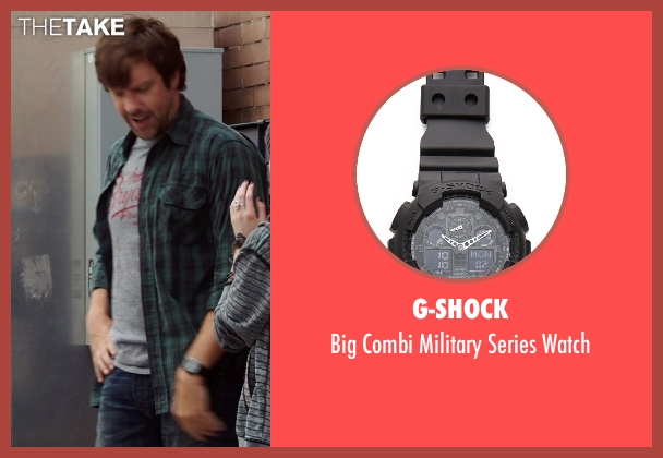 G-Shock black watch from We're the Millers seen with Jason Sudeikis (David Clark)