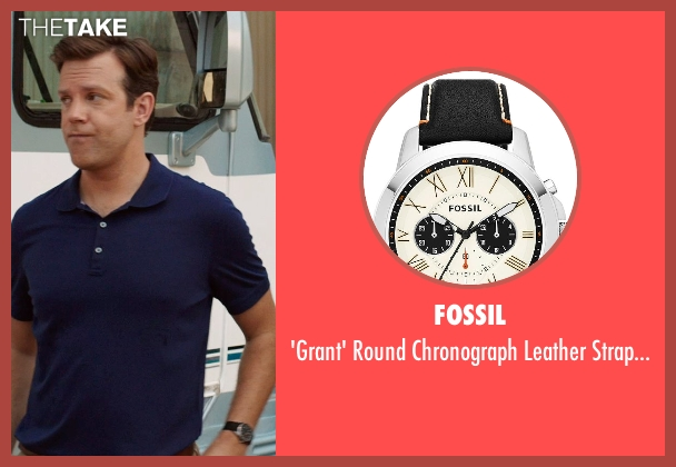 Fossil black watch from We're the Millers seen with Jason Sudeikis (David Clark)