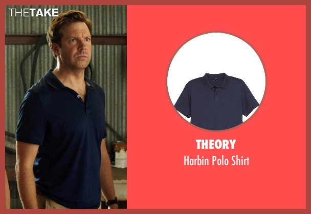 Theory blue shirt from We're the Millers seen with Jason Sudeikis (David Clark)