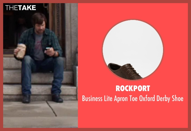 Rockport brown shoe from We're the Millers seen with Jason Sudeikis (David Clark)