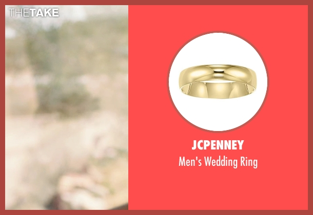 JCPenney gold ring from We're the Millers seen with Jason Sudeikis (David Clark)
