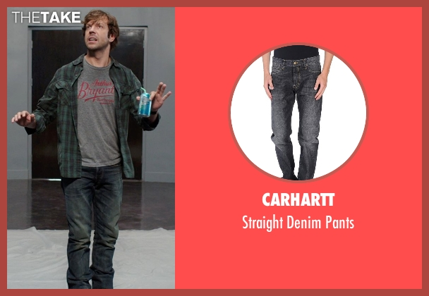 Carhartt gray pants from We're the Millers seen with Jason Sudeikis (David Clark)