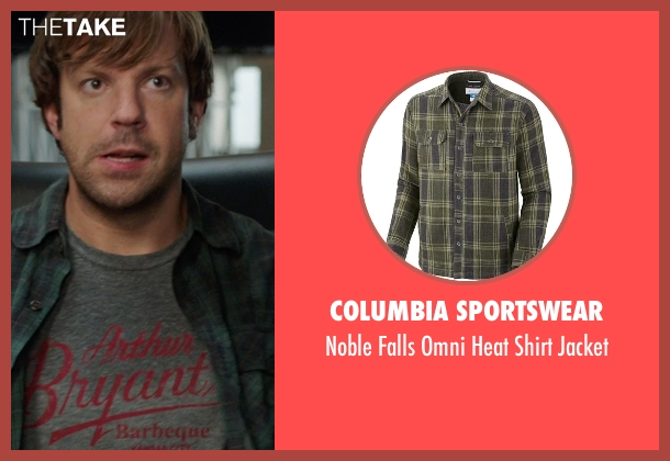 Columbia Sportswear green jacket from We're the Millers seen with Jason Sudeikis (David Clark)
