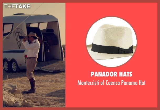 Panador Hats beige hat from The Counselor seen with Javier Bardem (Reiner)