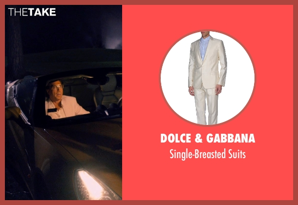 Dolce & Gabbana beige suits from The Counselor seen with Javier Bardem (Reiner)