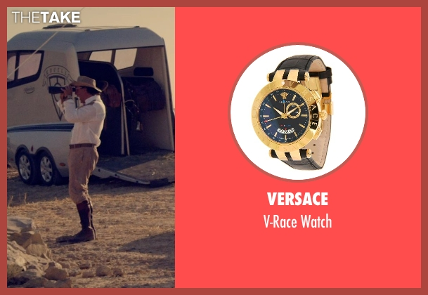 Versace black watch from The Counselor seen with Javier Bardem (Reiner)