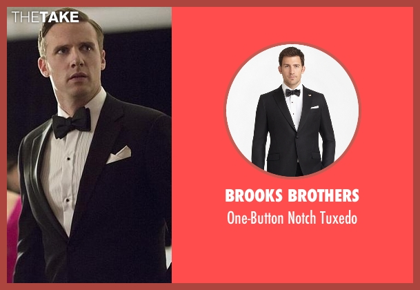 Brooks Brothers black tuxedo from The Flash seen with Jay Garrick (Teddy Sears)
