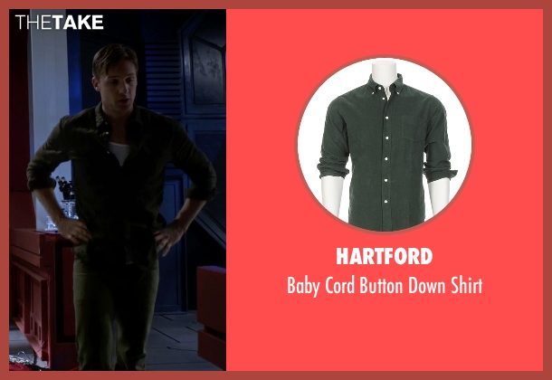 Hartford green shirt from The Flash seen with Jay Garrick (Teddy Sears)