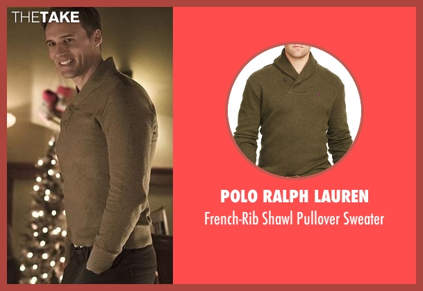 Polo Ralph Lauren green sweater from The Flash seen with Jay Garrick (Teddy Sears)
