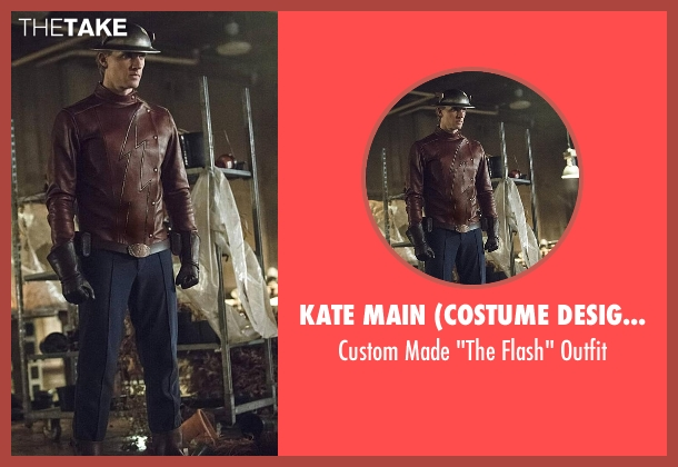 Kate Main (Costume Designer) outfit from The Flash seen with Jay Garrick (Teddy Sears)