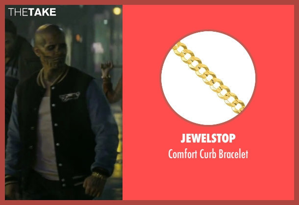 JewelStop gold bracelet from Suicide Squad seen with Jay Hernandez (Chato Santana / El Diablo)