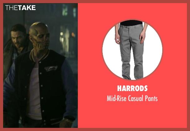 Harrods gray pants from Suicide Squad seen with Jay Hernandez (Chato Santana / El Diablo)