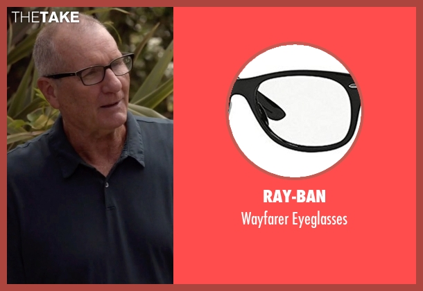 Ray-Ban black eyeglasses from Modern Family seen with Jay Pritchett (Ed O'Neill)