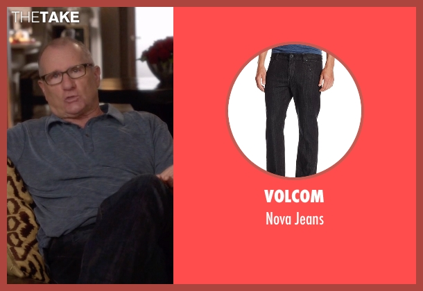 Volcom black jeans from Modern Family seen with Jay Pritchett (Ed O'Neill)
