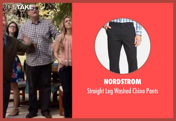 Nordstrom black pants from Modern Family seen with Jay Pritchett (Ed O'Neill)