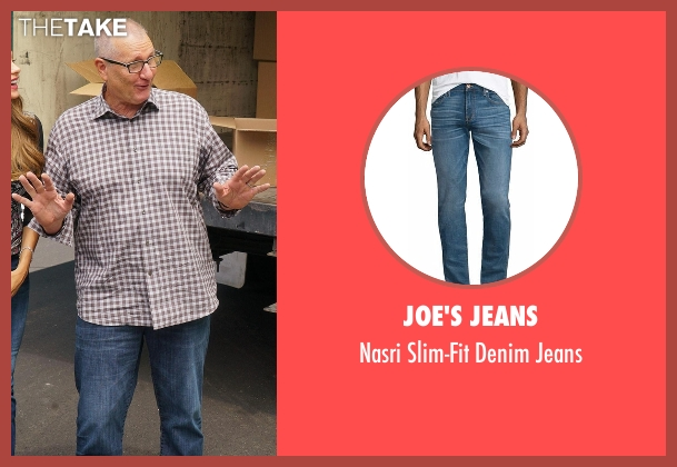Joe's Jeans blue jeans from Modern Family seen with Jay Pritchett (Ed O'Neill)