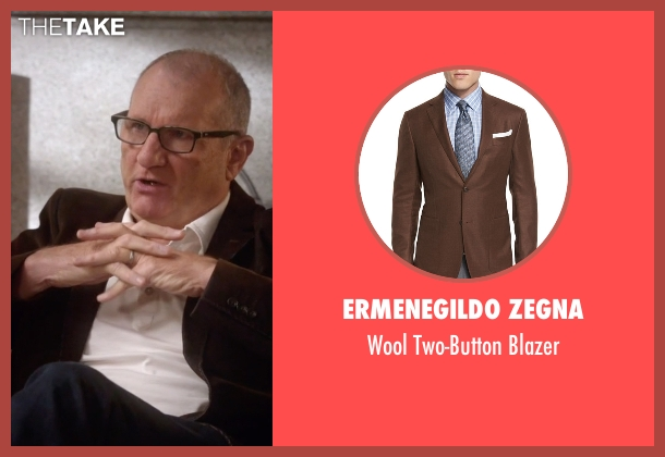 Ermenegildo Zegna brown blazer from Modern Family seen with Jay Pritchett (Ed O'Neill)
