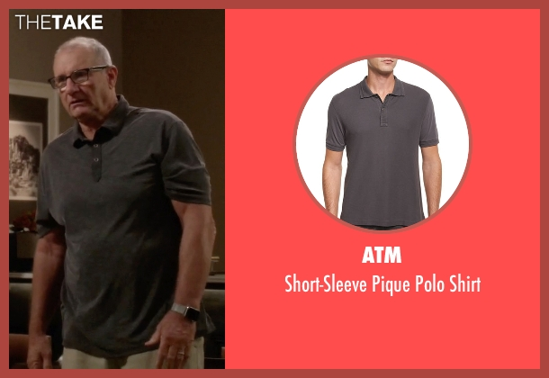 ATM gray shirt from Modern Family seen with Jay Pritchett (Ed O'Neill)