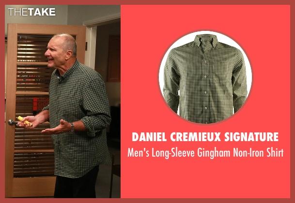 Men Gingham Shirt