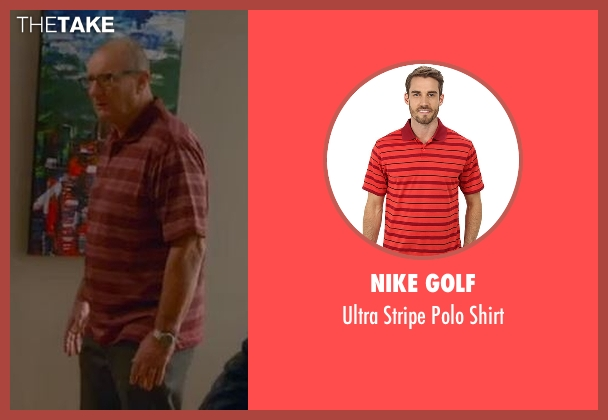 Nike Golf red shirt from Modern Family seen with Jay Pritchett (Ed O'Neill)