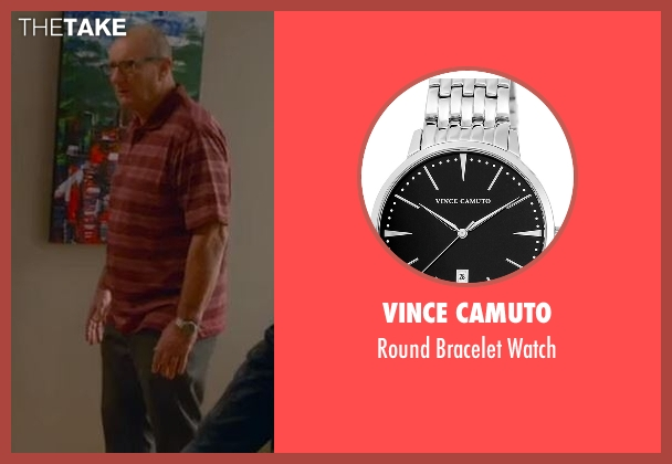 Vince Camuto silver watch from Modern Family seen with Jay Pritchett (Ed O'Neill)
