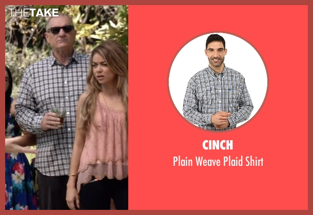 Cinch white shirt from Modern Family seen with Jay Pritchett (Ed O'Neill)