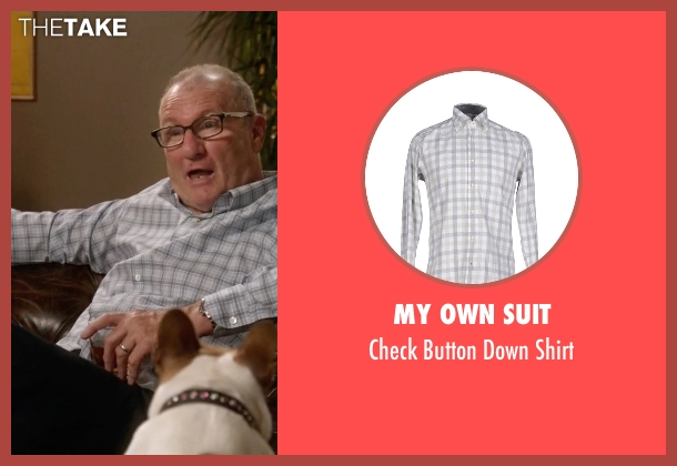 My Own Suit white shirt from Modern Family seen with Jay Pritchett (Ed O'Neill)