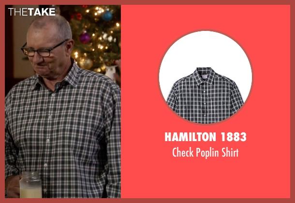 Hamilton 1883 white shirt from Modern Family seen with Jay Pritchett (Ed O'Neill)