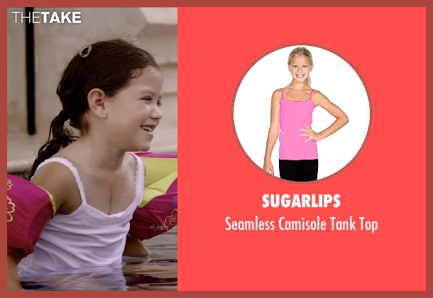 Sugarlips pink top from Self/Less seen with Jaynee-Lynne Kinchen (Anna)