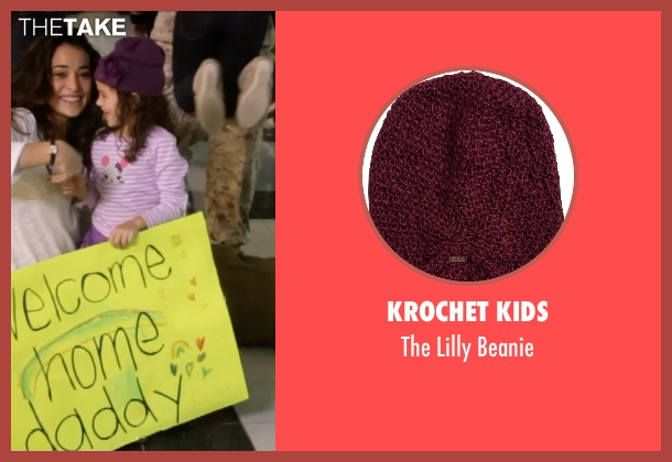 Krochet Kids purple beanie from Self/Less seen with Jaynee-Lynne Kinchen (Anna)