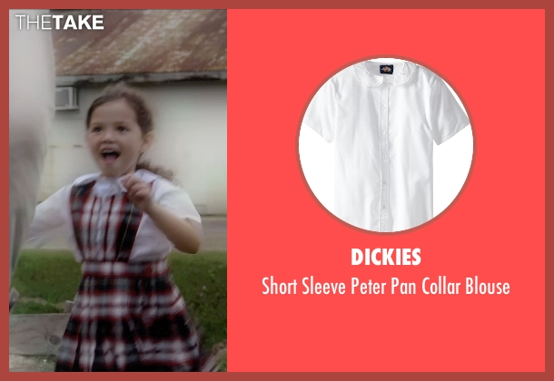 Dickies white blouse from Self/Less seen with Jaynee-Lynne Kinchen (Anna)