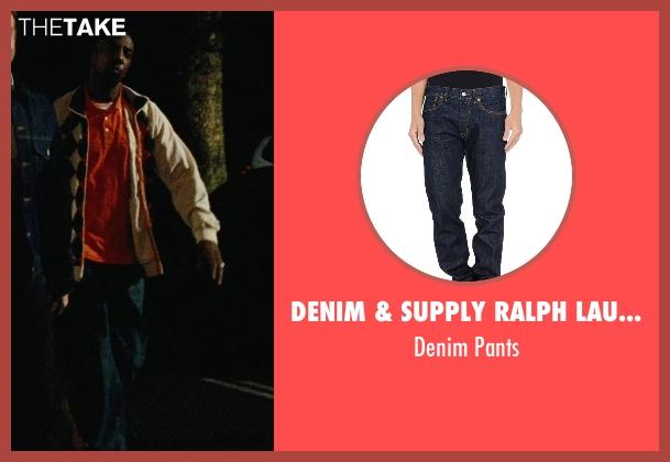 Denim & Supply Ralph Lauren blue pants from Hall Pass seen with J.B. Smoove (Flats)
