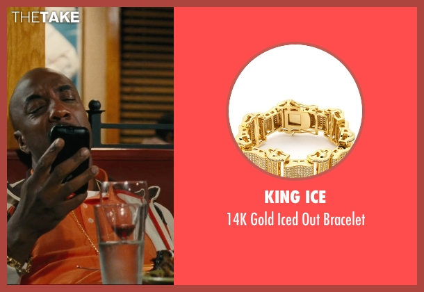 King Ice gold bracelet from Hall Pass seen with J.B. Smoove (Flats)