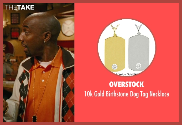 Overstock gold necklace from Hall Pass seen with J.B. Smoove (Unknown Character)