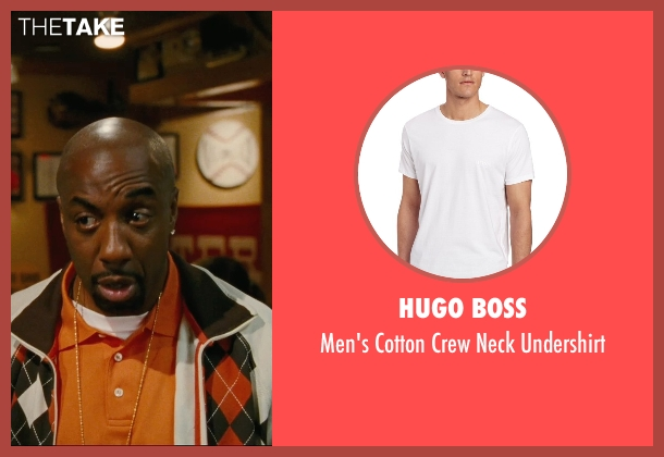 Hugo Boss white undershirt from Hall Pass seen with J.B. Smoove (Flats)