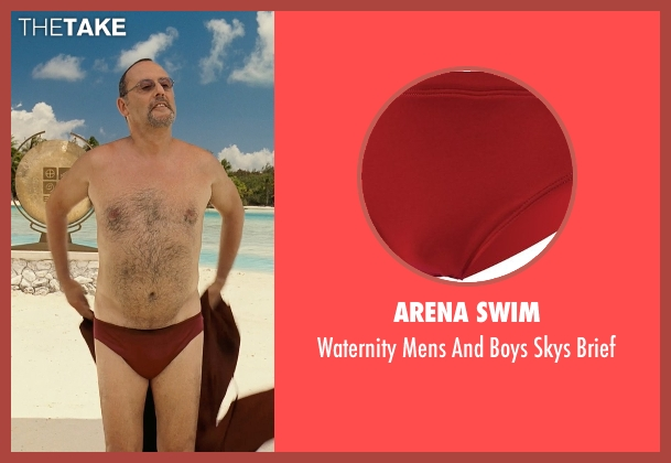 Arena Swim red brief from Couple's Retreat seen with Jean Reno (Marcel)