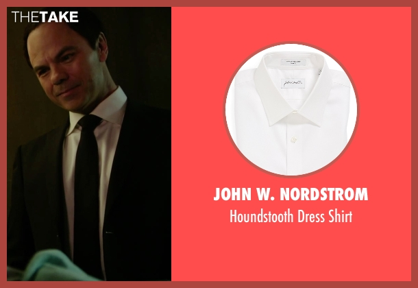 John W. Nordstrom white shirt from Deadpool seen with Jed Rees (The Recruiter)