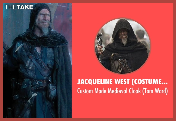 Jacqueline West (Costume Designer) cloak from Seventh Son seen with Jeff Bridges (Master Gregory)