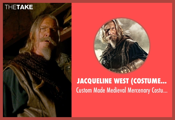 Jacqueline West (Costume Designer) costume from Seventh Son seen with Jeff Bridges (Master Gregory)