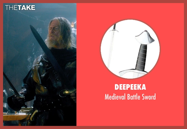 Deepeeka sword from Seventh Son seen with Jeff Bridges (Master Gregory)