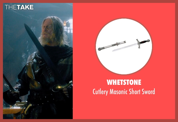 Whetstone sword from Seventh Son seen with Jeff Bridges (Master Gregory)