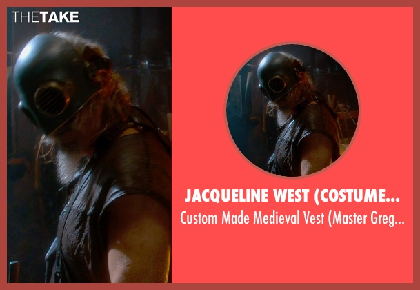 Jacqueline West (Costume Designer) vest from Seventh Son seen with Jeff Bridges (Master Gregory)